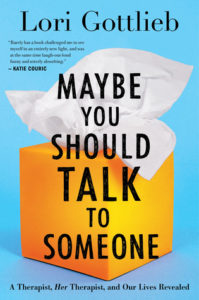 Book cover for Maybe you should talk to someone