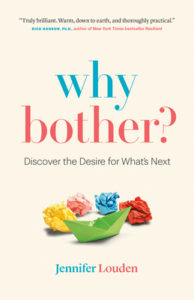 Book cover for why bother?