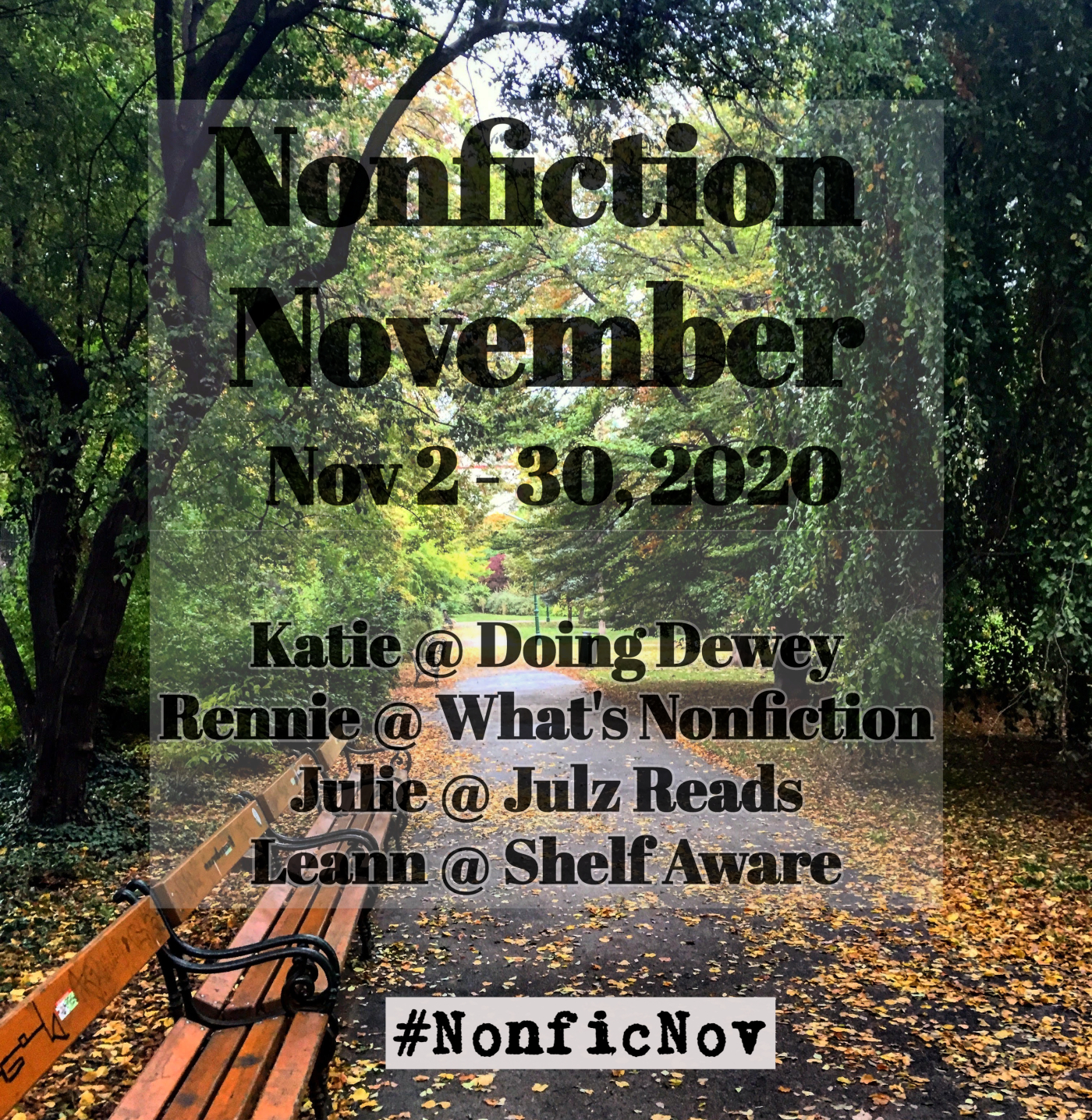 Nonfiction November 2020 Is Coming!
